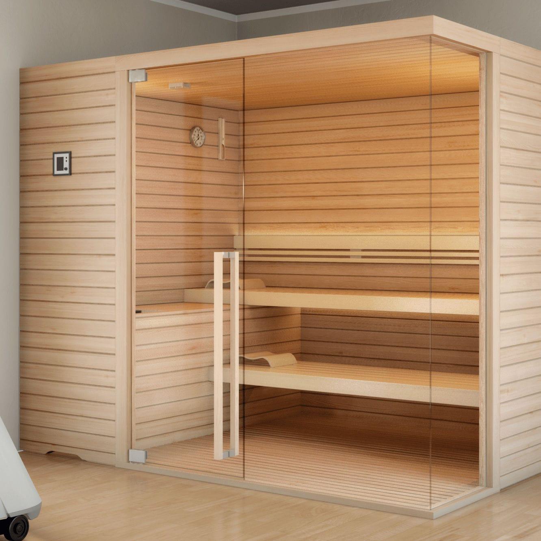 Sauna Cabina De Piedras De Sauna Topclass Stenal Videos - Cabina-sauna