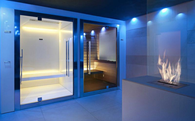 Cabina Sauna Vapor : Hammam cabina con generador de vapor sweet spa star wellness