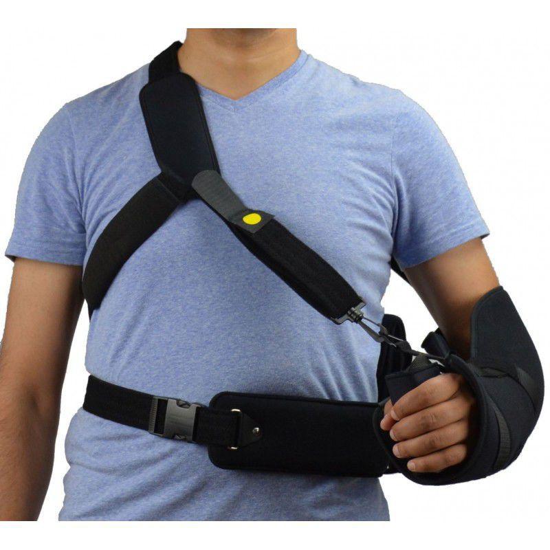 cabestrillo con cojín de abducción de hombro   con banda de sujeción en la  cintura - 83 RAD d03ed110103c
