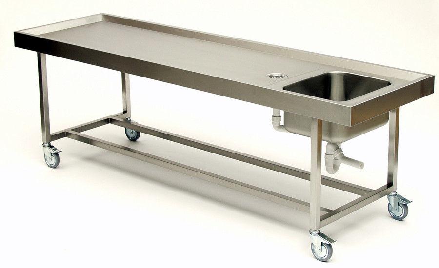 Mesa de autopsia / de disección / de lavado de cadáveres / de ...