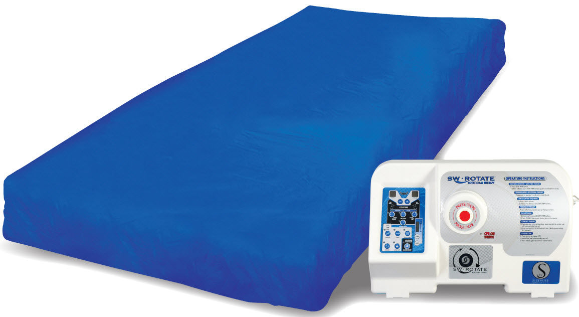 Colchón para cama médica / con rotación lateral / de baja pérdida de ...