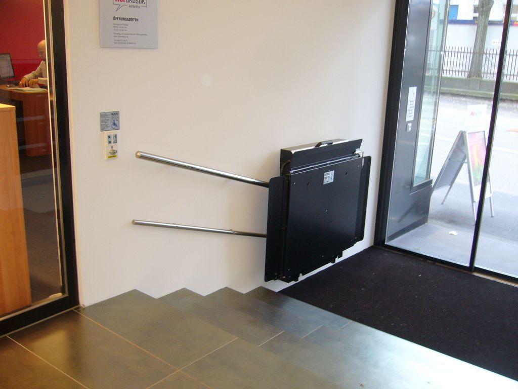 Plataformas elevadoras para sillas de ruedas