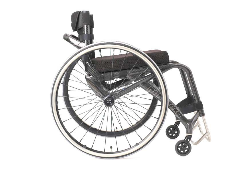 silla de ruedas activa plegable