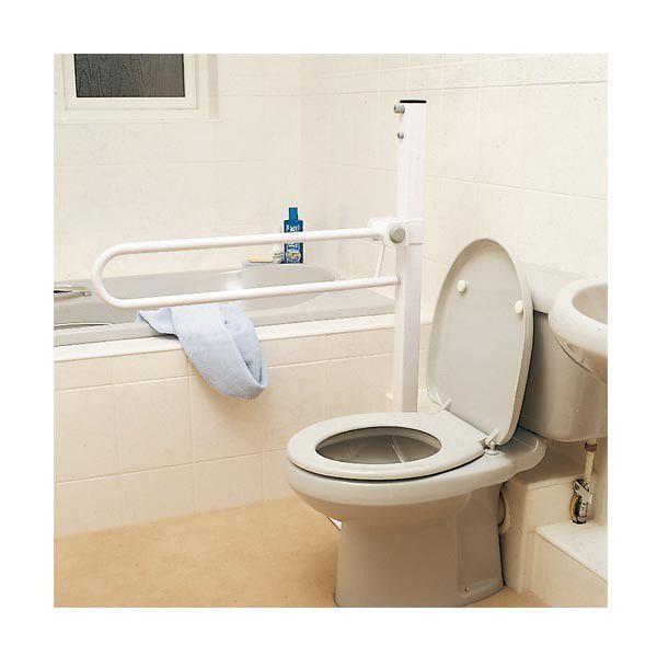 Barra de apoyo para cuarto de baño / de altura regulable / para ...