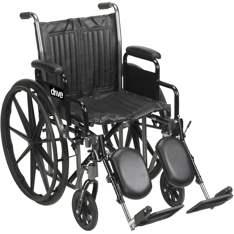 Silla de ruedas pasiva con reposapiernas Silver Sport 2