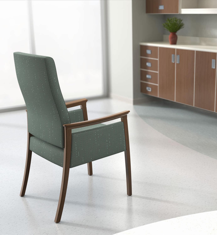 silla para sala de espera de comedor con modern amenity carolina