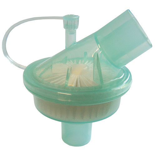 Circuito Ventilador : Filtro para circuito de respiración para ventilador respiratorio