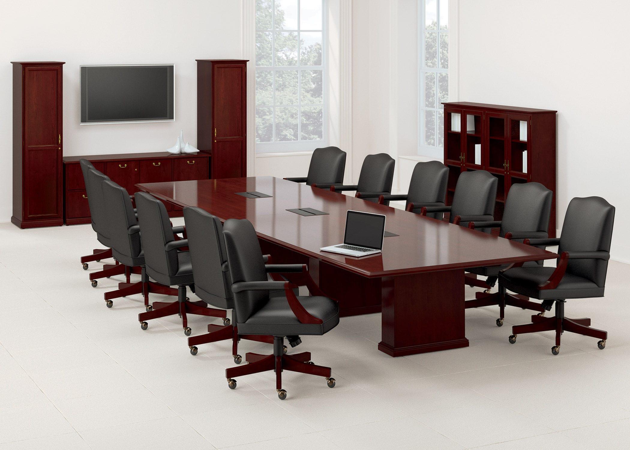 Mesa para sala de reuniones / de oficina / rectangular - Barrington ...