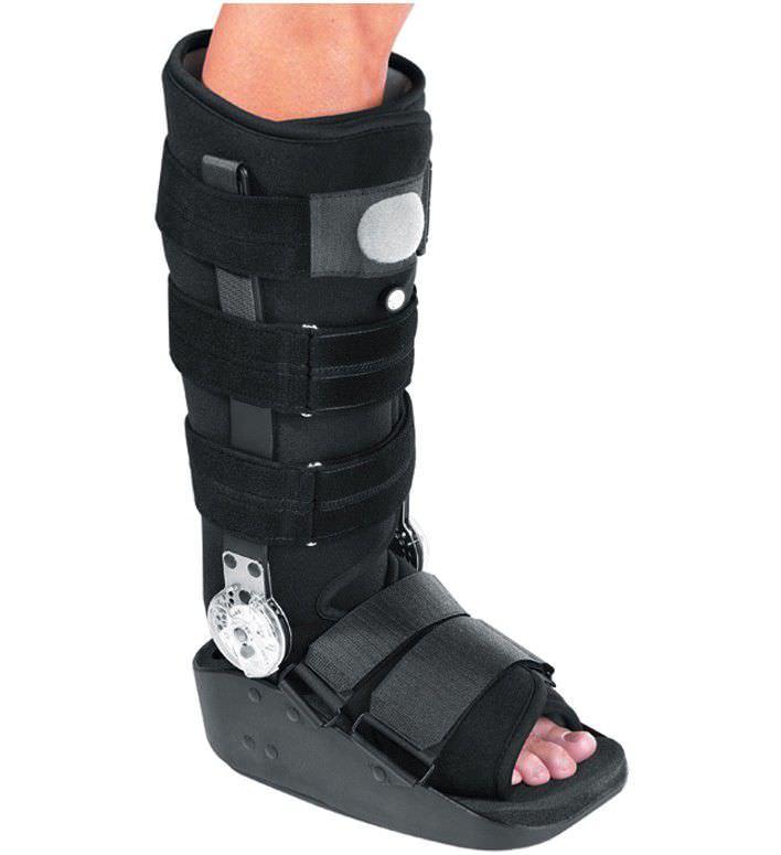 5fef777d bota ortopédica inmovilizadora larga / hinchable / articulada - MaxTrax™  Air ROM