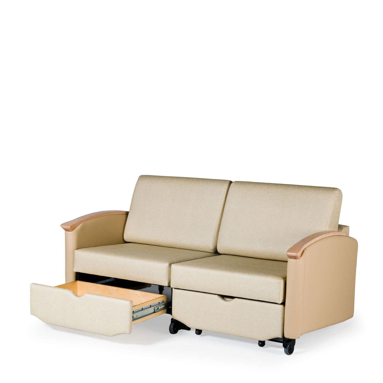 Sofá cama 2 plazas / para centro sanitario - HARMONY HA2821L - La-Z ...