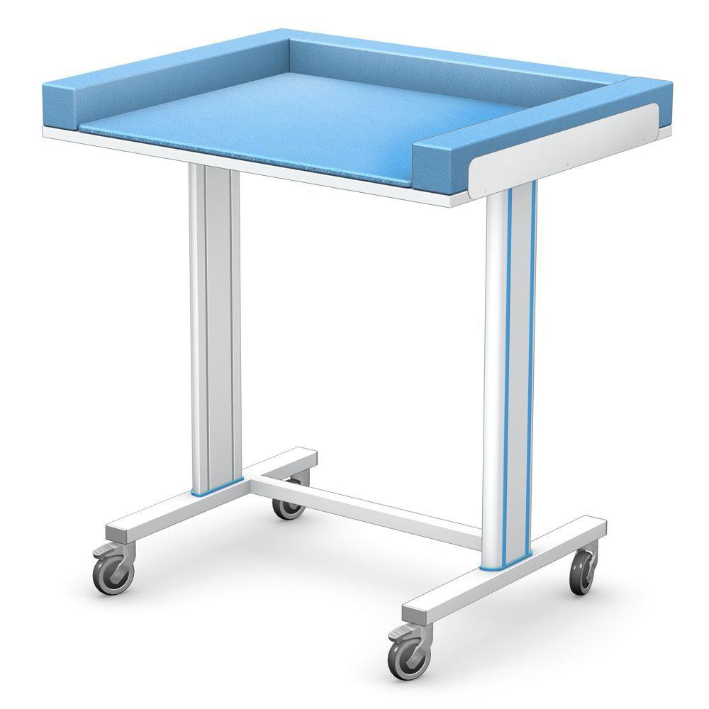 Mesa para cambiar pañales / rectangular / con ruedas - SPTM series ...