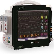 Monitor de paciente de emergencia / presión arterial no invasiva / de temperatura / PI