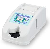 Analizador de coagulación semiautomático / para el hombre / portátil