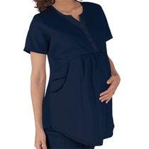 Blusón médico para mujer embarazada / de poliéster / de algodón