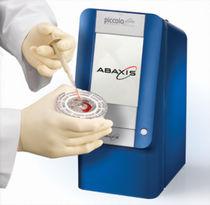 Analizador de bioquímica semiautomático / compacto / portátil