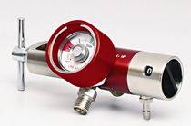 Regulador de presión de oxígeno / de alta presión / flujo ajustable
