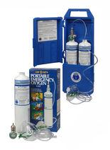 Cilindro de oxígeno con descompresor / de un solo uso