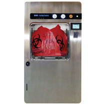 Esterilizador de desechos hospitalarios / de vapor / de carga frontal / empotrable