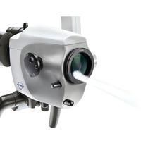 Microscopio de diagnóstico / microscopio de reconocimiento ORL / con ruedas