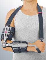 Inmovilización ortopédica férula para codo / articulada / con asas