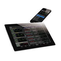 Software de visualización / de tratamiento / de telemonitorización de los signos vitales / para cuidados intensivos