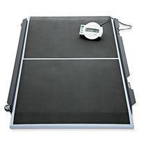 Plataforma de pesaje electrónica / para sillas de ruedas / con visualizador LCD / inalámbrica