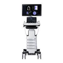 Ecógrafo con soporte / para ecografía polivalente / blanco y negro / elastografía