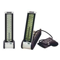 Tensiómetro electrónico semiautomática / de brazo / con manguito incorporado