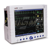 Monitor multiparamétrico para cuidados intensivos / etCO2 / PI / RESP