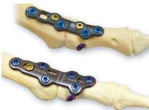 Placa de artrodesis falange del pie