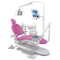 Unidad dental con portainstrumentos / con luz / con monitor