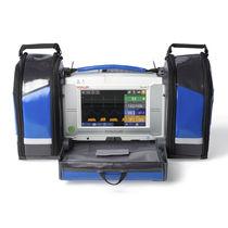 Monitor multiparamétrico para cuidados intensivos / de emergencia / ECG / de temperatura