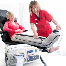 Unidad de presoterapia para piernas / unidad de presoterapia para brazos / de mesa / 12 células independientes