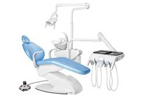 Unidad de tratamiento dental con sillón eléctrico / con portainstrumentos / con luz