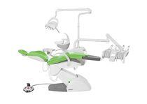 Unidad de tratamiento dental con sillón electromecánico / con portainstrumentos / con luz