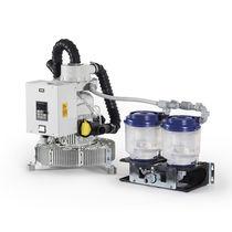 Sistema de vacío para odontología / de anillo líquido / seco / 5 unidades