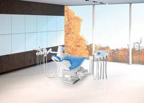 Unidad de tratamiento dental con portainstrumento