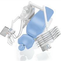 Unidad de tratamiento dental con portainstrumentos / con monitor / con luz
