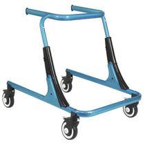 Andador con ruedas 4 ruedas / de altura variable / pediátrico