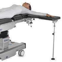 Soporte para brazos / para cirugía de la mano / de altura regulable / radiotransparente