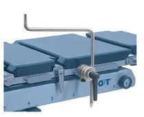 Soporte lateral / para mesa de operaciones / universal / de acero inoxidable