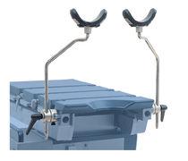 Apoyapiernas / soporte para rodillas / para mesa de operaciones