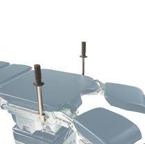 Soporte lateral / para mesa de operaciones / para ginecología
