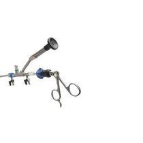 Endoscopio nefroscopio / con canal operador / de ángulo / con fibra óptica para láser