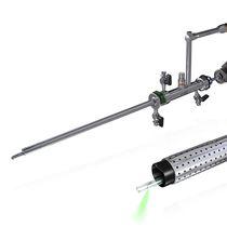 Endoscopio cistoscopio / de ángulo recto / con fibra óptica para láser