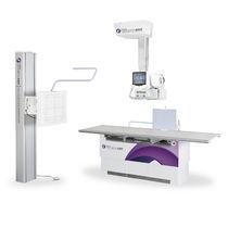 Sistema de radiografía / digital / para radiografía polivalente / con brazo portatubos telescópico de techo