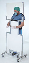 Pantalla de radioprotección rayos X / portátil / con abertura para guantes / con ventanas