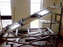 Mesa de lavado de cadáveres / rectangular / eléctrica / basculante