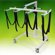 Elevador de pacientes hidráulico / con ruedas / mortuorio