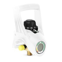 Regulador de presión para gases médicos / con selector de caudal / integrado